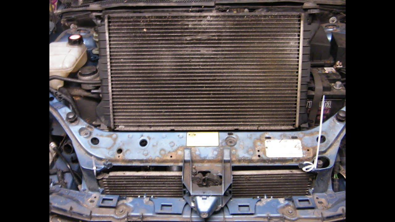 Ford Focus Radiator Change (air conditioning model)  YouTube