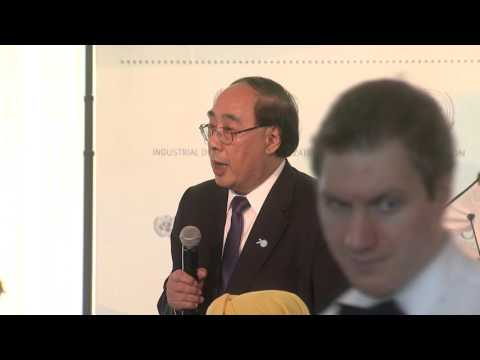 WU Hongbo, UN Under-SG for Economic and Social Affairs at NY event on industrialization in Africa
