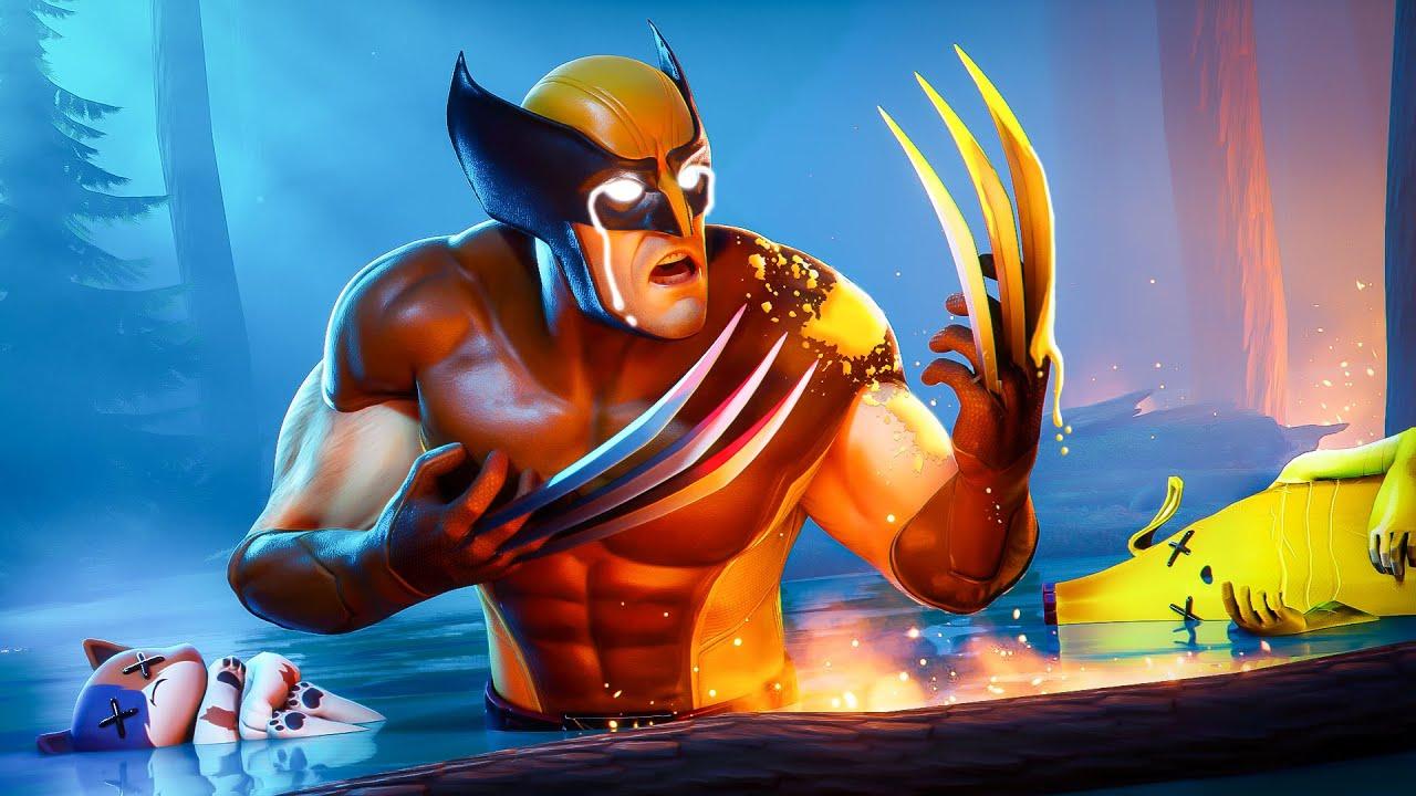 EL ORIGEN SECRETO DE WOLVERINE!! (HISTORIA) | Película de Fortnite x Marvel