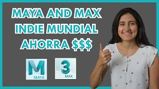 Autodesk Maya and 3Ds Max Indie Mundial AHORRA DINERO!