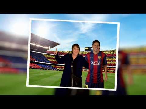 Travel Man  EP 1 Richard Ayoade, Kathy Burke & Lionel Messi in Barcelona