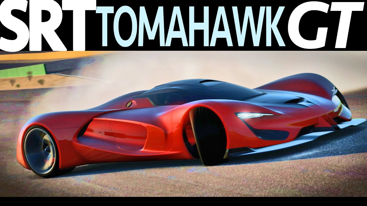Srt Tomahawk Vision Gran Turismo Unveiled Youtube