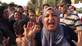 أهالي طرة يقطعون «الكورنيش» اعتراضا على تحويل مدرسة حكومية إلى تجريبية