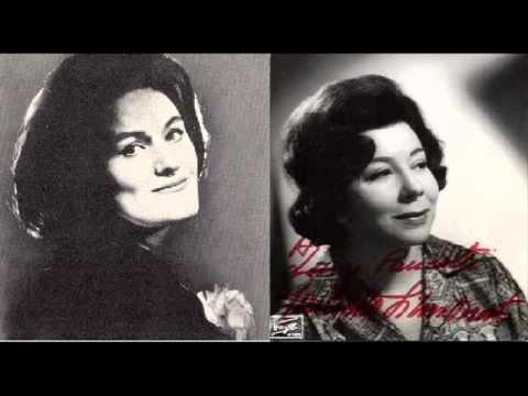 Joan Sutherland & Giulietta Simionato-Semiramide Duet Act II-Part II-