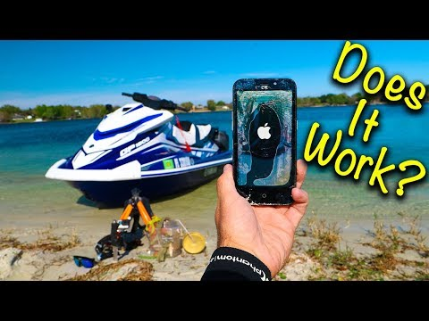 Treasure Hunting: Found PHONE In Lake!! (Does it work?)