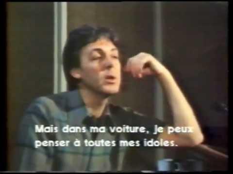 McCartney : interview 1982 (1/2)