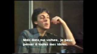 McCartney : interview 1982 (1/2)