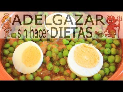 Dieta de guisantes para adelgazar