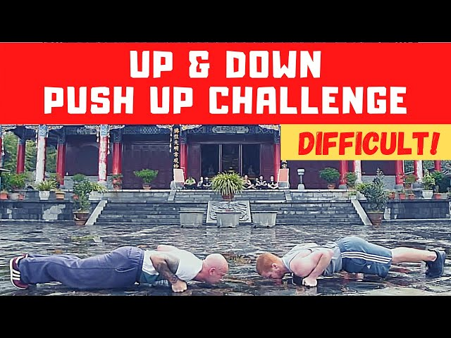 Push Up Challenge - Up & Down