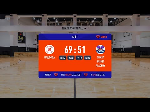 Хайлайты. Надежда – Smart Basket Academy. Лига развития (2). Матч за 3 место. Сезон 2020/21