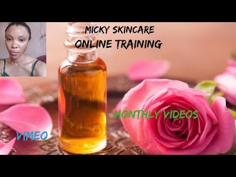 Whitening Cream Mix | Online Skincare Training | Vimeo Videos Upload