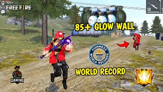 85+ Glow Wall and Grenade World Record? Total Gaming eSports GrandMaster Push Game- Garena Free Fire