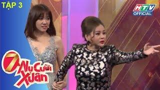 HTV 7 NỤ CƯỜI XUÂN | Khách mời Lê Giang | 7NCX #3 FULL | 3/2/2018