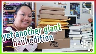 Book Haul Unboxing 104 Yet Another Giant Haul Edition Jan Feb 2016