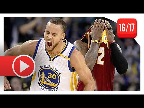 Stephen Curry vs Kyrie Irving PG Duel...
