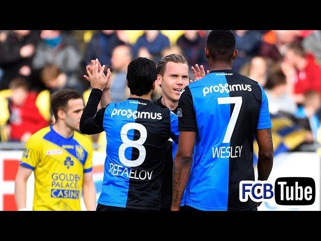 2017-2018 - Jupiler Pro League - 30. Sint-Truiden - Club Brugge 0-1