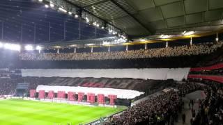 Choreographie Eintracht Frankfurt gegen Schalke