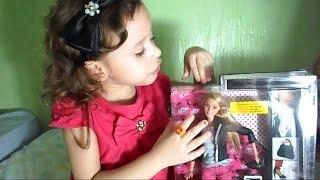 Review de brinquedos - boneca Barbie style Casaco de Couro