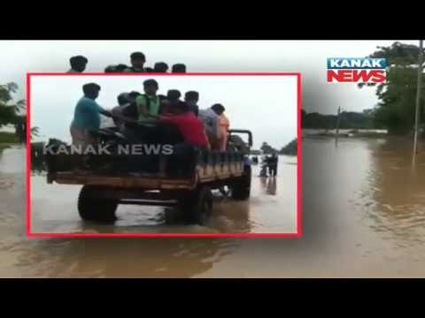 Balasore People In Terror For Flood In Subarnarekha & Jalaka River