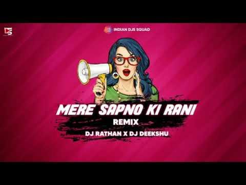 Mere Sapno Ki Rani Remix | DJ Rathan X DJ Deekshu | Collaboration Vol- 4 | Indian DJ's Squad