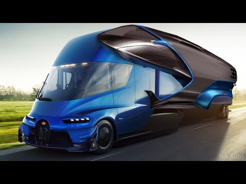 Amazing 5 Future Trucks You Must SEE
