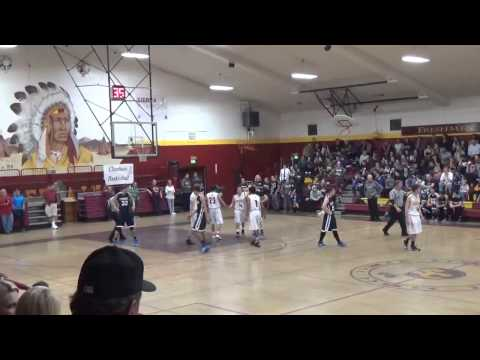 Sierra High School VS. Yosemite High School Basketball 1/16/15