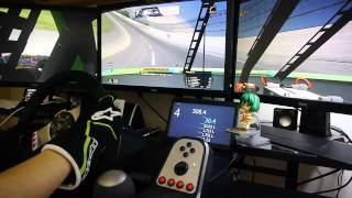 iRacing - NASCAR B Fixed at Talladega Onboard