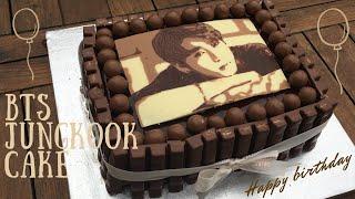 BTS JUNGKOOK BIRTHDAY CAKE