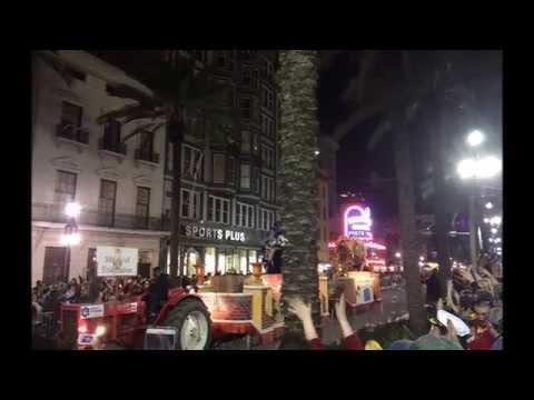 Mardi Gras New Orleans 2015 Parade Endymion