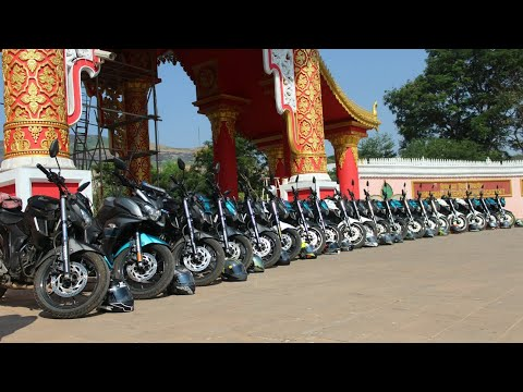(25MRC)FZ 25 Family is growing bigger, Ride to vihigaon, Ashoka water fall & Myanmar Gate
