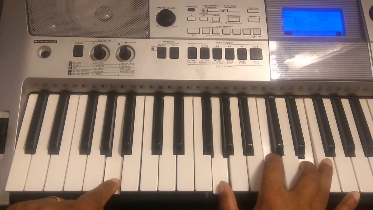 How to play Your Love by William Murphy on piano