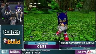 Sonic Adventure 2: Battle by Talon2461 in 39:10 - SGDQ 2016 - Part 85