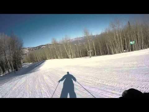 Sunlight Mountain Resort - skiing Grizzly run
