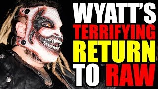 Bray Wyatt Returns to WWE Raw! (Real Reason Why He Went For Finn Balor) + News 15 July 2019