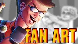 REACTING to FAN ART! - Why Do You Do This?!