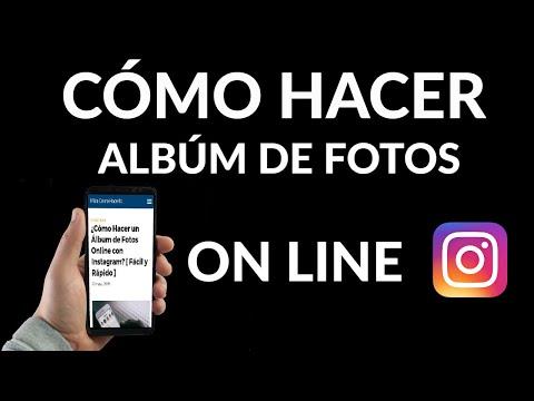 Cómo Hacer un Álbum de Fotos Online con Instagram