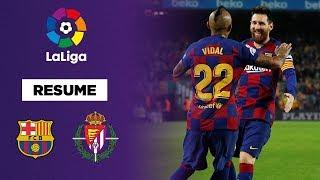 VIDEO: Liga : Le FC Barcelone passe une manita à Valladolid !
