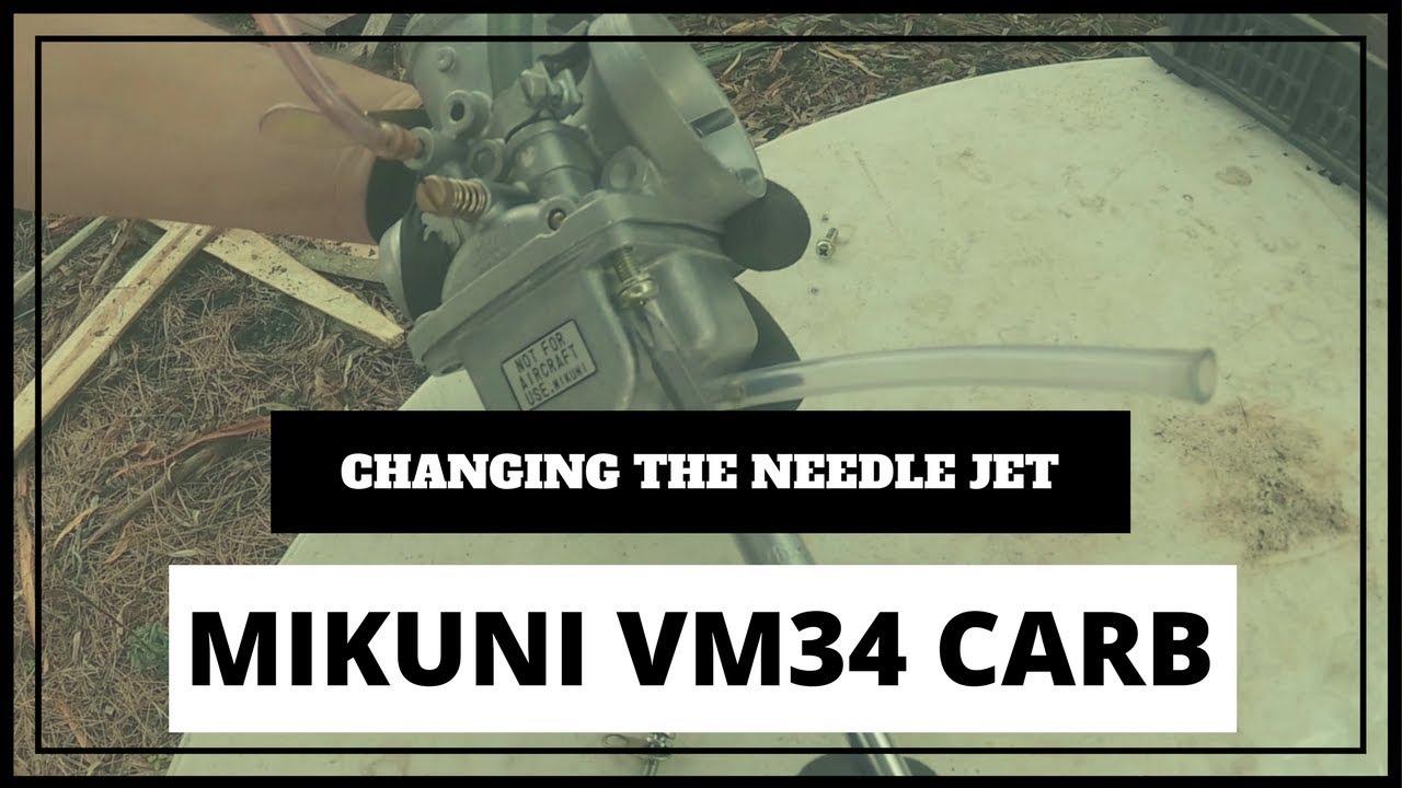 Mikuni VM34 - Replacing the Needle Jet