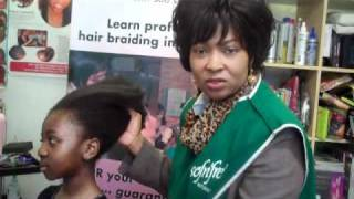 How to: Maintain virgin Black Hair - Soften & Detangle Afro  Hair
