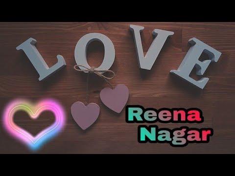 """"""" Reena Nagar """" Name Whatsapp Status Video....    Danwad  Tera Meri Zindagi    Parmish Verma Song"""