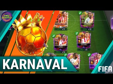FULL CARNIBALL SQUAD! 10 MILLION COINS! FIFA MOBILE 18