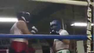 Nonantum Boxing Club Exhibition Sparring: 65 Year Old Man!