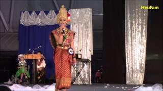 Sacramento Hmong New Year#4 2016 - 2017 : Miss Hmong CA Pageant - Maiv Paj Ntaub Yaj #4 Talent