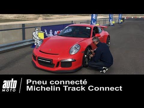 Pneu connecté MICHELIN TRACK CONNECT testé sur Porsche 911 GT3