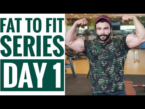 Fat To Fit Series Day 1 | Chest | Abs | Workout | Amit Panghal