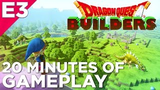 Dragon Quest Builders - 20 Minutes of GAMEPLAY