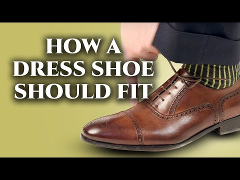 How A Mens Dress Shoe Should Fit & How To Find The Right Shoe Size  Online & In Store