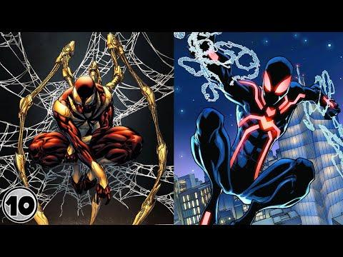 Top 10 Strongest Spider Man Suits