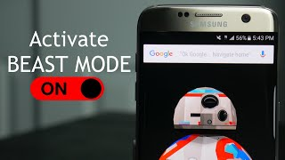 activate beast mode on samsung galaxy s7 s7 edge