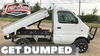 1999 Suzuki Carry Custom Dump Mini Truck